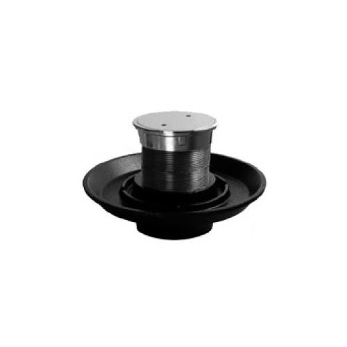 伊藤鉄工(IGS):両ねじ防水皿付きステンレス製床上掃除口(SCOA+BZGN) 型式:SCOBG 125