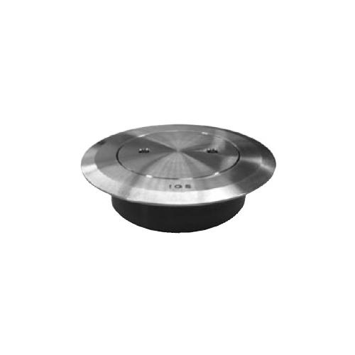 伊藤鉄工(IGS):差込型(VP,VU)ステンレス製化粧用床上掃除口 型式:SCOVN 150