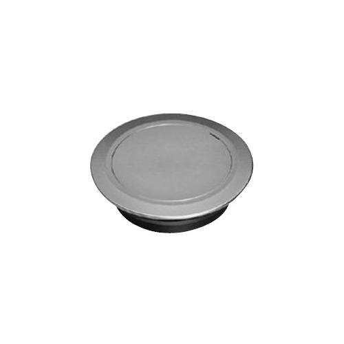 伊藤鉄工(IGS):差込型(VP, VU, GP) 目皿付きつや消し化粧用床上掃除口(掃兼型) 型式:COVOM 100