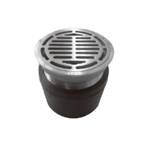 伊藤鉄工(IGS):ジョイント(調節管)ねじ込式(ステンレス製目皿、枠付き)床排水トラップ 型式:T5AOS 40