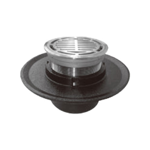 伊藤鉄工(IGS):ジョイント(調節管)ねじ込式(ステンレス製目皿、枠付き)床排水トラップ 型式:T5BOS 65