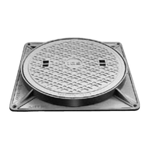 伊藤鉄工(IGS):防臭マンホールふた 型式:MCBH-350(鎖付き)-汚水