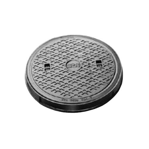 伊藤鉄工(IGS):防臭型丸枠マンホールふた 型式:MCBR-350(鎖付き)-雨水