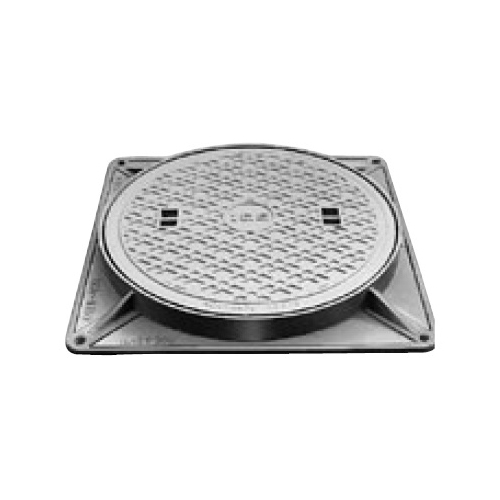 伊藤鉄工(IGS):防臭中耐型マンホールふた 型式:MCAH-350(鎖付き)-雨水