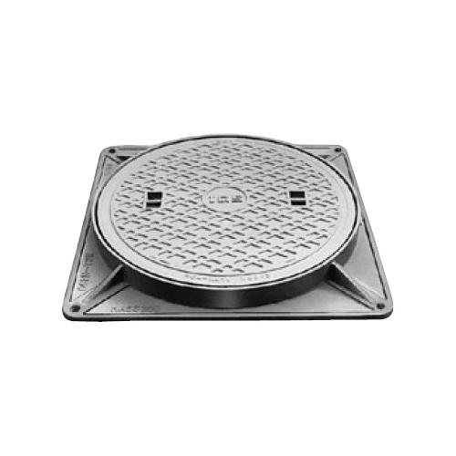伊藤鉄工(IGS):防臭中耐型パッキン入りマンホールふた 型式:MCAHG-300(鎖付き)-汚水