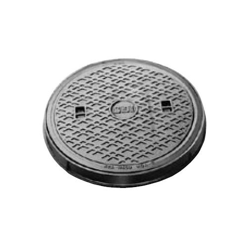 伊藤鉄工(IGS):防臭中耐型丸枠マンホールふた 型式:MCAR-300(鎖なし)-汚水