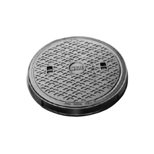 伊藤鉄工(IGS):防臭中耐型丸枠マンホールふた 型式:MCAR-300(鎖付き)-雨水