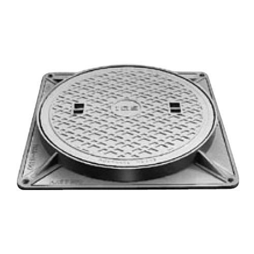 伊藤鉄工(IGS):防臭重耐型マンホールふた 型式:MCDH-300(鎖なし)-雨水