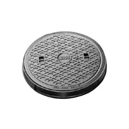 伊藤鉄工(IGS):防臭重耐型丸枠パッキン入りマンホールふた 型式:MCDRG-300(鎖付き)-汚水