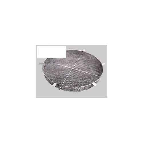 伊藤鉄工(IGS):丸形格子網・桝用ステンレス製 落葉ダストキャッチャー エコノミータイプ 型式:GRO-RC-450