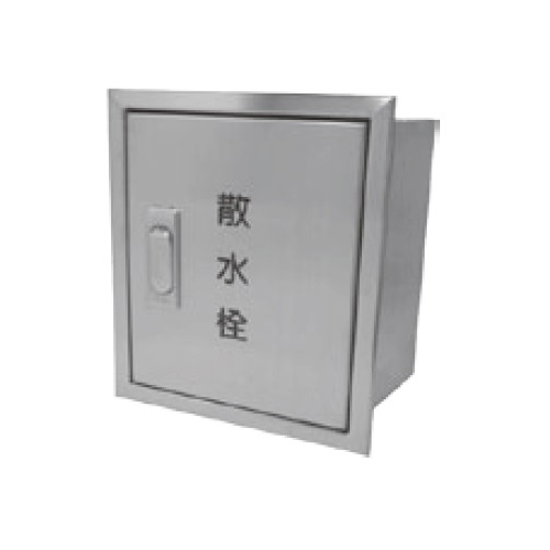 伊藤鉄工(IGS):壁埋込型 ステンレス製散水栓ボックス(タテ型) 型式:SB3LT(鍵付き)