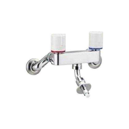LIXIL(INAX):緊急止水弁付2ハンドル混合水栓 型式:SF-WL63RQ
