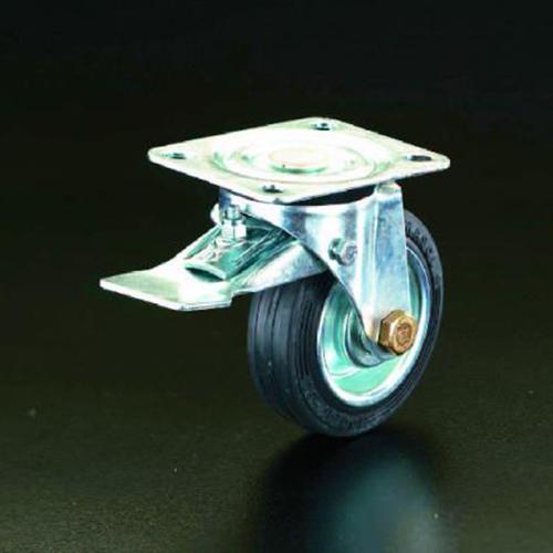 エスコ:キャスター(自在金具・前輪ブレーキ付) 型式:EA986GC-160