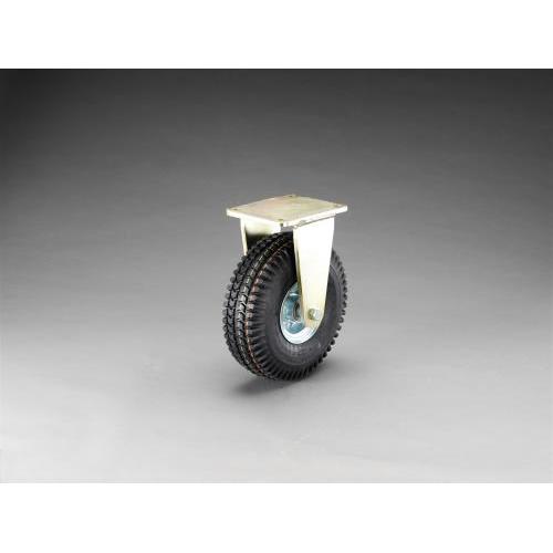 エスコ:キャスター(固定間具・空気入車輪) 型式:EA986KD-310