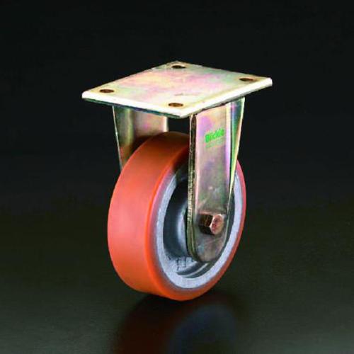 エスコ:キャスター(固定金具) 型式:EA986KP-150