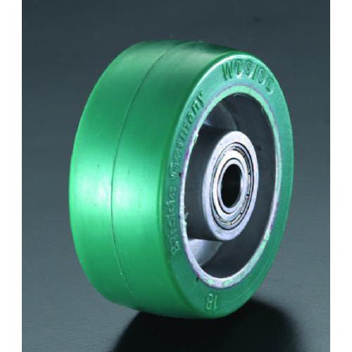 エスコ:車輪(ポリウレタンタイヤ・アルミリム・ベアリング) 型式:EA986MN-125
