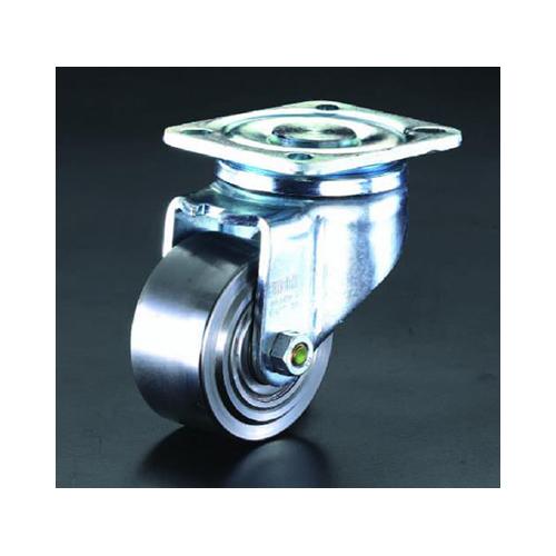 エスコ:キャスター(自在金具・スティール車輪) 型式:EA986NN-100