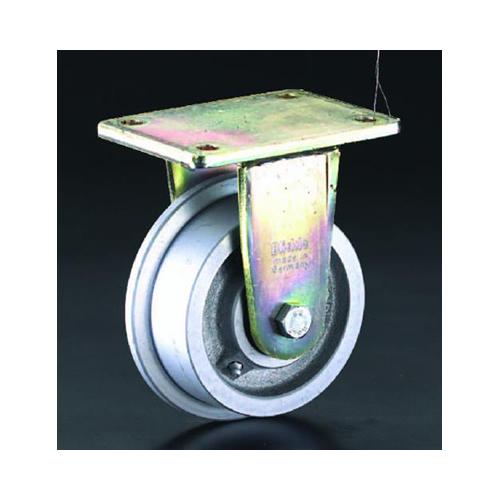 エスコ:キャスター(スティール車輪・レール用) 型式:EA986NV-125