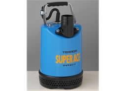 寺田ポンプ製作所:土木用水中ポンプ(長尺ケーブル仕様) 型式:S-500N-50Hz(10mケーブル付)
