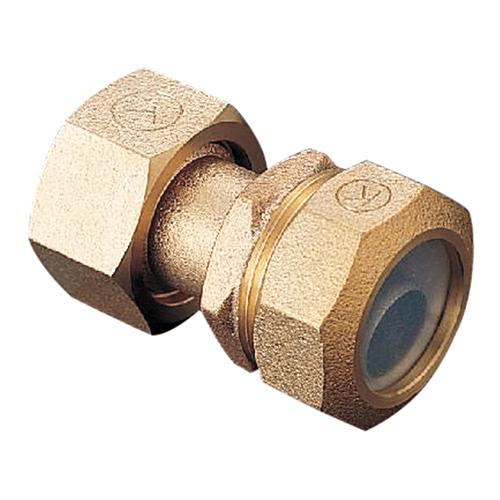 光明製作所:ポリエチレン管用 金属継手 (PPジョイント) メータ用ソケット 型式:KJP-902-50