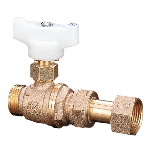 光明製作所:ボール式伸縮止水栓 型式:VS-206-25x20