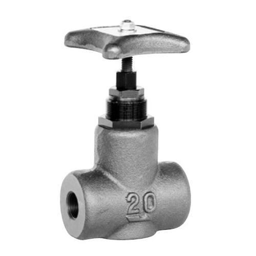 国内調達品:ねじ込み形ストップバルブ 型式:HT-4211-8-23