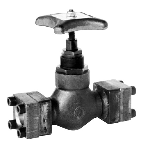 国内調達品:鍛造製フランジ形ストップバルブ 型式:HFS-1211-8-23