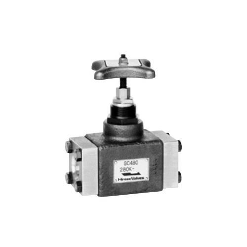 国内調達品:鋳鋼製フランジ形ストップバルブ 型式:HF-1280-8-11