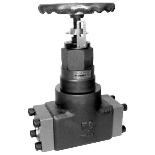 油圧機器・伝動機器・潤滑機器 > 油圧バルブ > ストップバルブ 国内調達品:フランジ形両絞りストップバルブ 型式:HF-8210-80-24