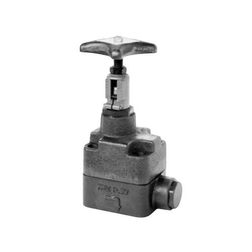 国内調達品:ガスケット形片絞りストップバルブ 型式:HG-9210-32-24
