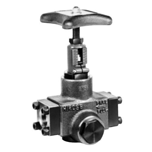 国内調達品:フランジ形片絞りストップバルブ 型式:HF-9210-10-23