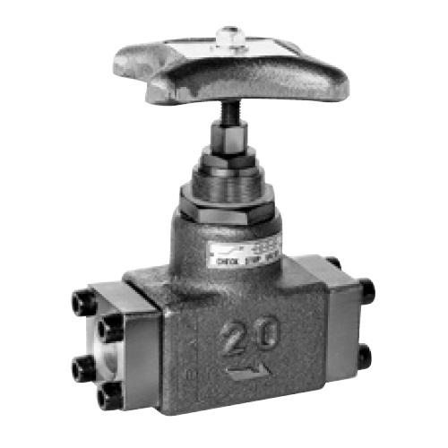 国内調達品:フランジ形チェックストップバルブ 型式:HF-6211-20-25