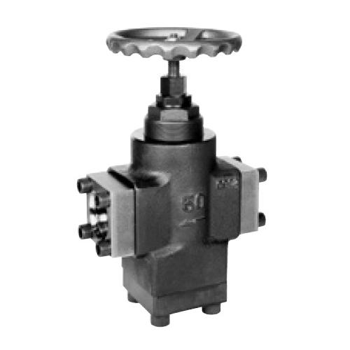 国内調達品:フランジ形チェックストップバルブ 型式:HF-6211-25-25