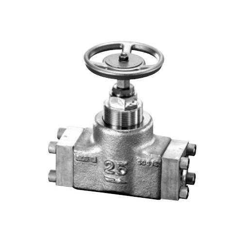 国内調達品:ステンレス鋼製フランジ形ストップバルブ 型式:HF-4211-40-23-AS1