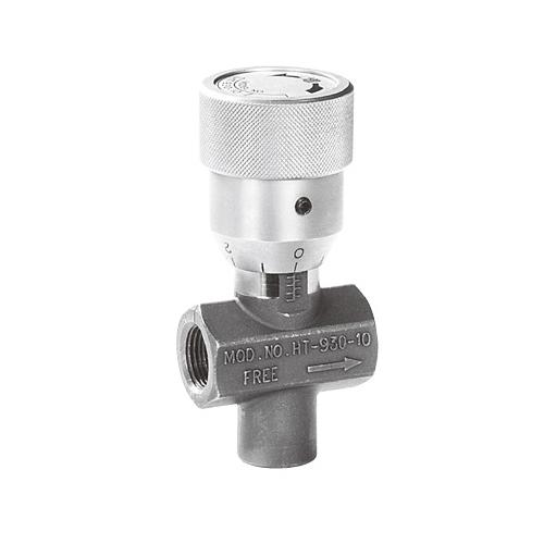国内調達品:温度補償付スロットルチェックバルブ 型式:HT-930-10-Z