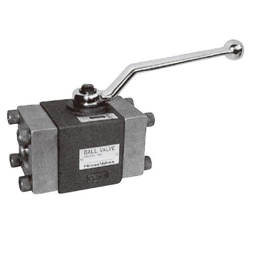 国内調達品:フランジ形2ポートボールバルブ 型式:HBV-F04-14