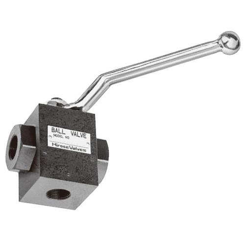 国内調達品:ねじ込み形3ポート2位置ボールバルブ 型式:HBV-Y-T10-2532