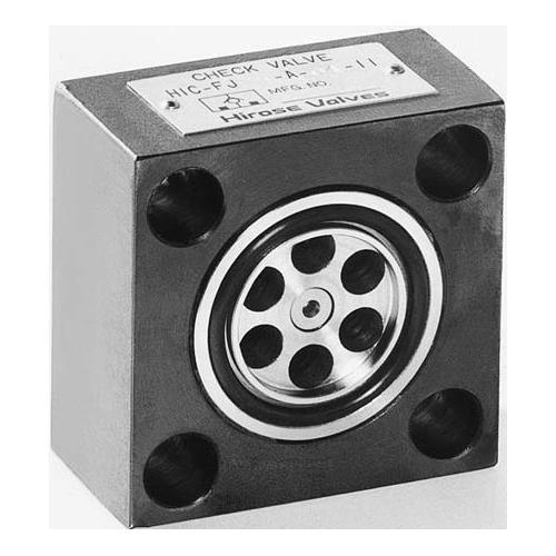 国内調達品:コンパクト形フランジ形チェックバルブ 型式:HIC-FJ80-B-04-12
