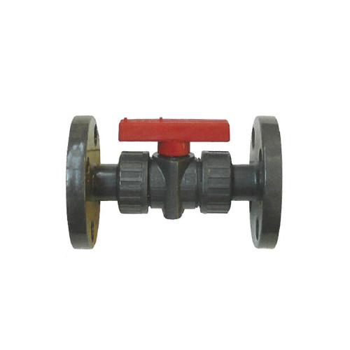 橋本産業:自在式ボールバルブ 型式:VP606-50A-フランジ/FKM