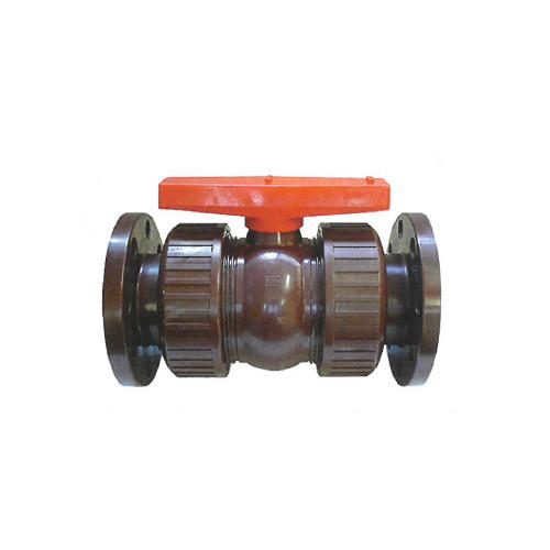 橋本産業:自在式ボールバルブ 型式:VP606C-40A-フランジ/EPDM