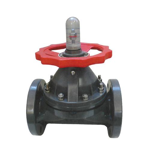 橋本産業:ダイヤフラム弁 型式:VP710-100A-フランジ/EPDM