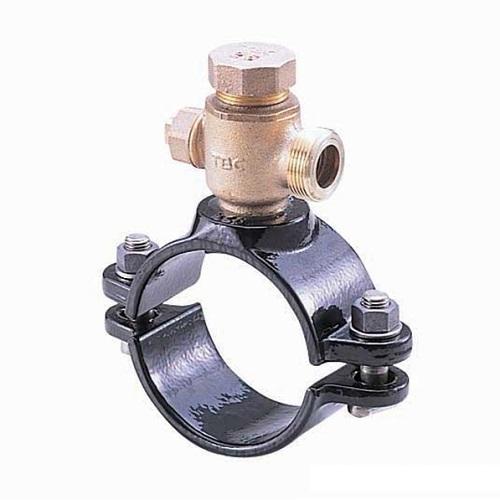 タブチ:TBCサドル分水栓ビニル管鋼管兼用 型式:40X25BXV