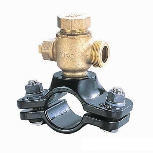 タブチ:日水協分水栓ビニル管鋼管兼用 型式:75X25NXVS