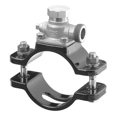 タブチ:SUS製サドル分水栓鋳鉄管用 型式:250X25BNS-D