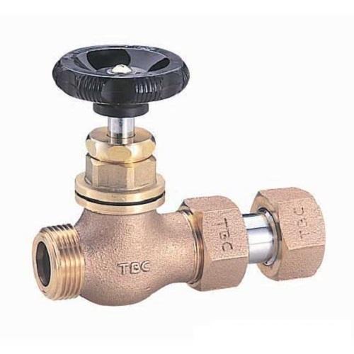 タブチ:メータ直結伸縮止水栓丸形樹脂ハンドル 型式:50SEP
