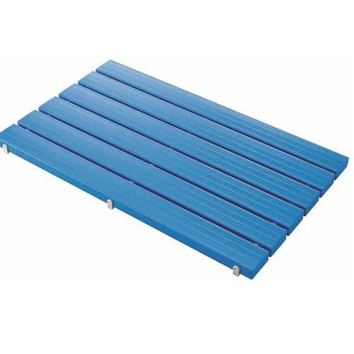 山崎産業:YSカラースノコ・抗菌(蓋付) L型ブルー 型式:F-115-3-L-BL