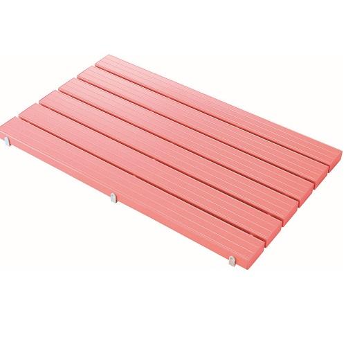 山崎産業:YSカラースノコ・抗菌(蓋付) L型ピンク 型式:F-115-3-L-P