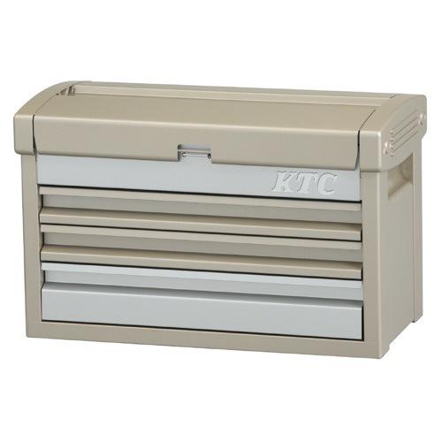 京都機械工具(KTC):EKR-103CG [チェスト(シャンパンゴールド×シルバー)] 型式:EKR-103CG