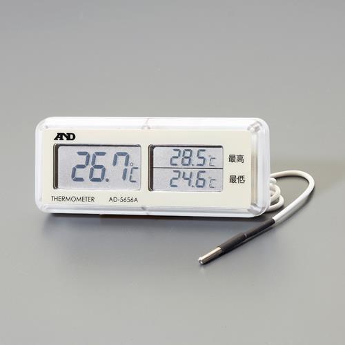 無料サンプルOK テスター及び計測器 温度 湿度計 限定特価 スーパーSALE対象商品 エスコ デジタル温度計 防水型 -40~69.9℃ EA728EF-5 ESCO