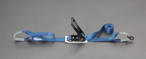 ジャッキ、プーラー、荷締機 荷締部品 荷締機 新作アイテム毎日更新 エスコ ESCO ベルト荷締機 50mmx8.0m 500Kg EA982RD-7 ラチェット式 新品 送料無料